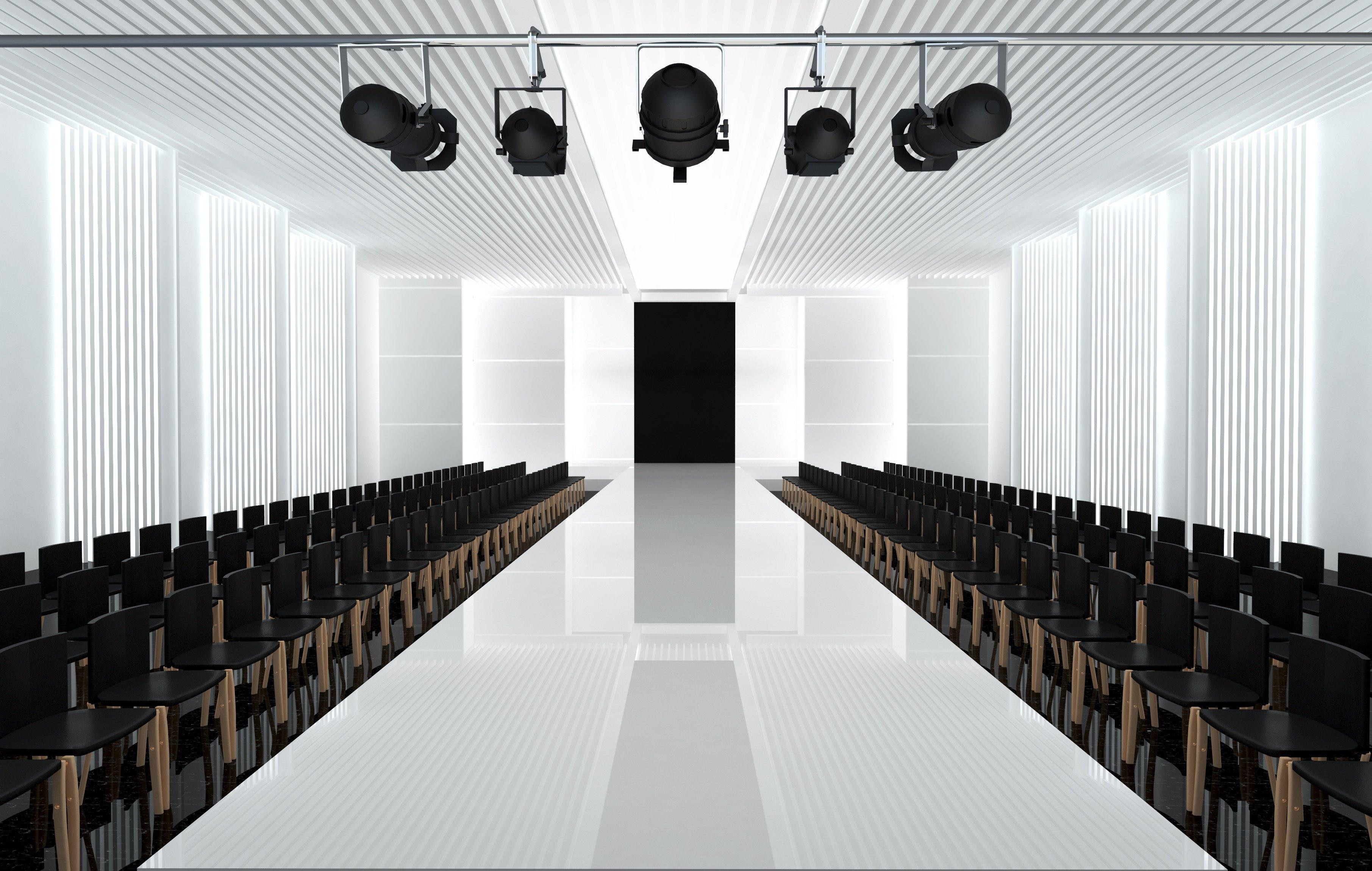 3d fashion runway
